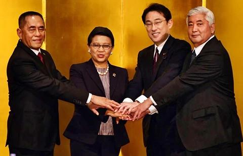 Nhật-Indonesia hợp tác an ninh
