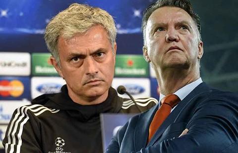Nghiệt ngã thầy Van Gaal và trò Mourinho