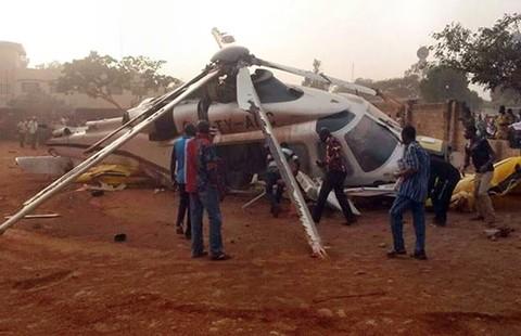 Trực thăng rơi, thủ tướng thoát nạn