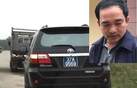 Khởi tố tài xế xe biển xanh 'làm luật' xe tải