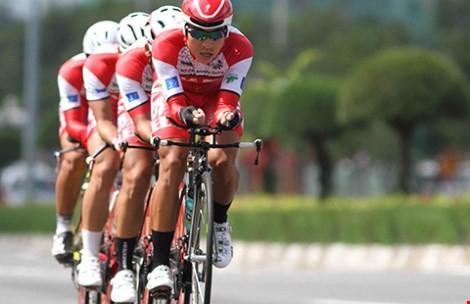 Đội tuyển xe đạp Việt Nam dự giải vô địch châu Á