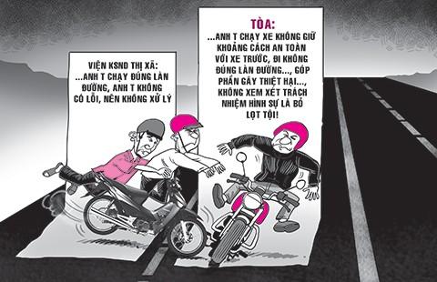 Kẻ sang đường bị tội, người ủi xe vô can