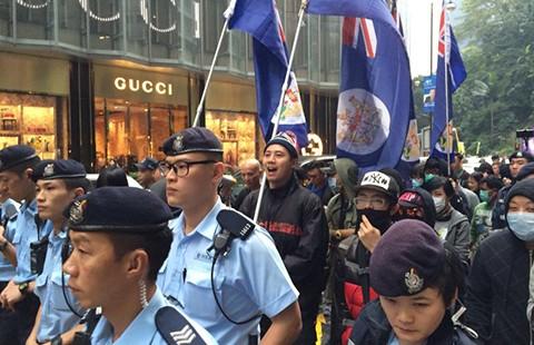 Tuần hành ở Hong Kong đòi minh bạch vụ năm người mất tích