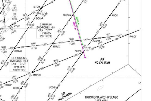 Cục Hàng không Việt Nam phản đối Trung Quốc