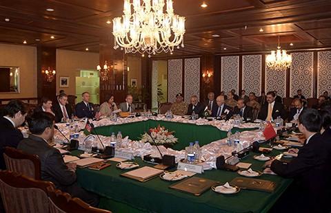 Hội nghị bốn bên về hòa bình Afghanistan