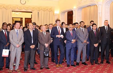 Bộ Ngoại giao gặp mặt báo chí quốc tế