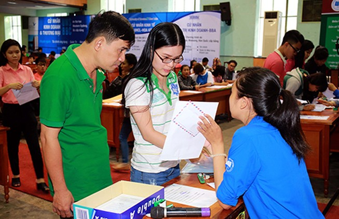 Tuyển sinh 2016: Thí sinh sẽ được đăng ký nhiều nguyện vọng nhưng khác trường
