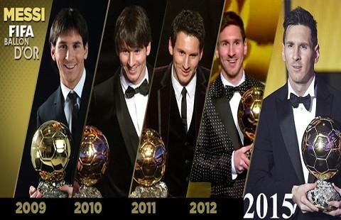 Messi muốn Cúp vàng FIFA hơn bóng vàng
