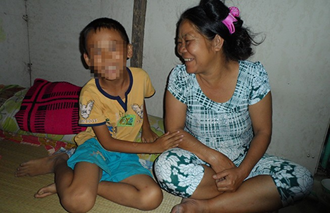 Một trẻ được cho là bị bắt cóc