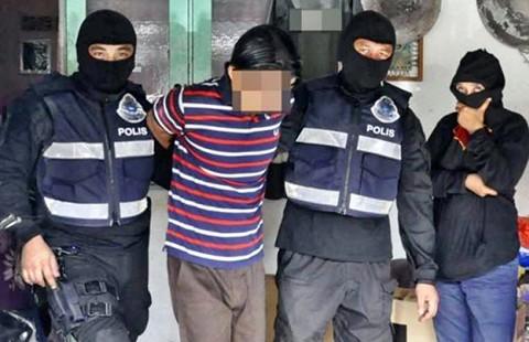 Bảy tên âm mưu tấn công khủng bố ở Malaysia