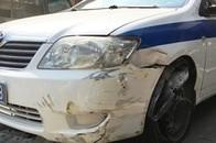Bắt kẻ trộm xe ô tô công vụ của CSGT