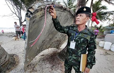 Tấm kim loại ở Thái Lan không phải của MH370