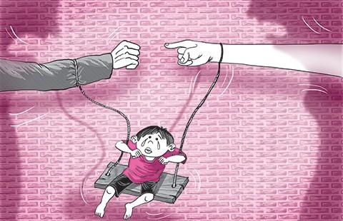 Cuộc chiến giành con: Nỗi ám ảnh của trẻ thơ!