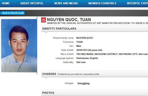 Interpol truy nã bị can trong vụ Nguyễn Gia Thiều