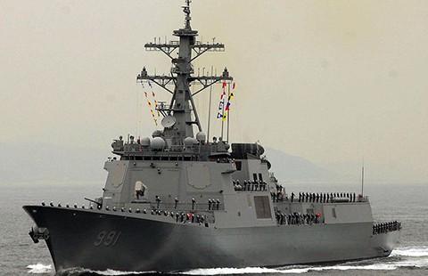 Hàn Quốc điều tàu chiến chờ Triều Tiên phóng vệ tinh