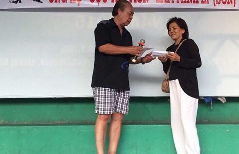 Giải giao hữu gây quỹ giúp đỡ cựu thủ môn Minh Lý: Ấm tình đồng đội