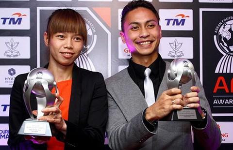 Bóng đá châu Á ca ngợi những 'đóa hồng' Việt