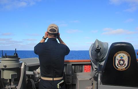 Soái hạm Mỹ sẽ đến Trung Quốc