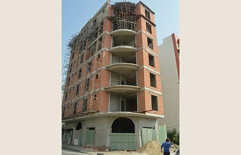 Cắt điện, nước bảy công trình nhà ở xây theo kiểu khách sạn