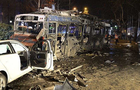 Máy bay Thổ Nhĩ Kỳ ném bom trả đũa