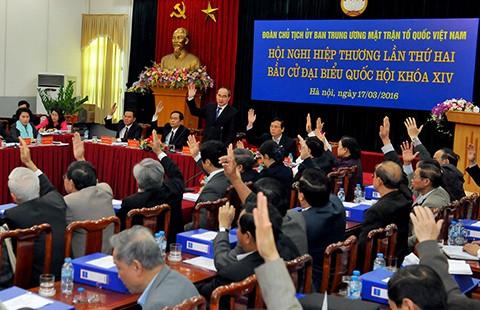 95 ủy viên trung ương được giới thiệu ứng cử ĐBQH