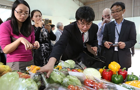 Tăng cường xuất khẩu hàng nông sản Việt Nam sang Nhật