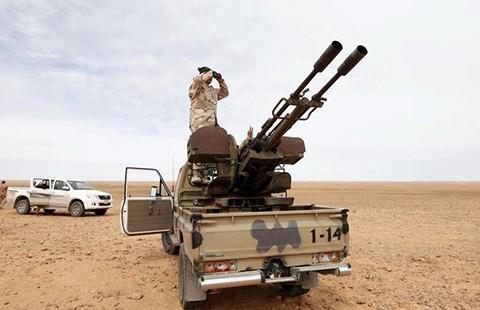 Báo động IS tăng quân ở Libya