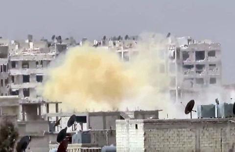 Quân nổi dậy Syria sử dụng chất độc hóa học