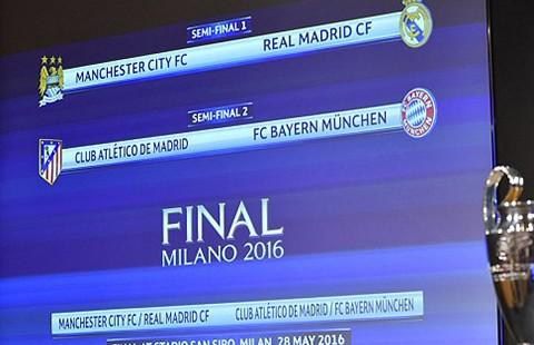 Bán kết Champions League: Thoát cảnh tương tàn