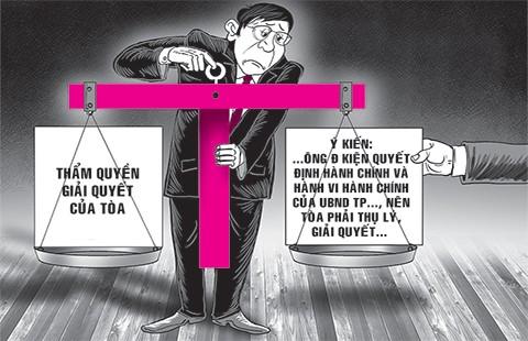 Tranh cãi án dân sự hay hành chính
