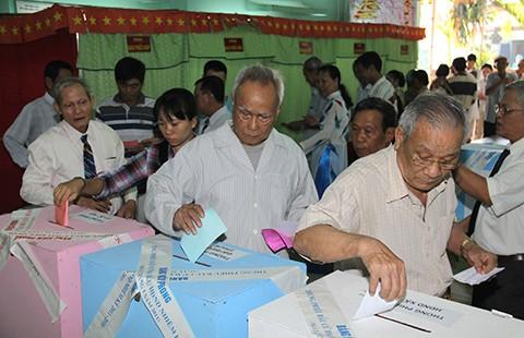 Mời bạn tham gia cuộc thi 'Công dân với bầu cử'