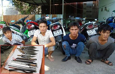 Điểm mặt các băng nhóm 'trấn giữ' vùng giáp ranh