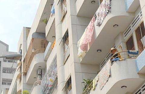 'Đuối' với hàng xóm chung cư mới