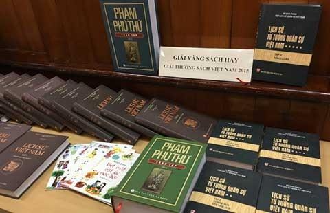 Lịch sử Việt Nam đoạt giải vàng sách hay