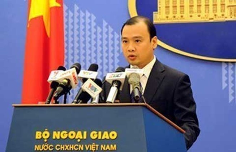 Việt Nam phản đối những hoạt động của Trung Quốc trên biển Đông