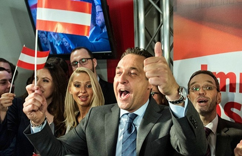 Chấn động bầu cử xảy ra tại Áo