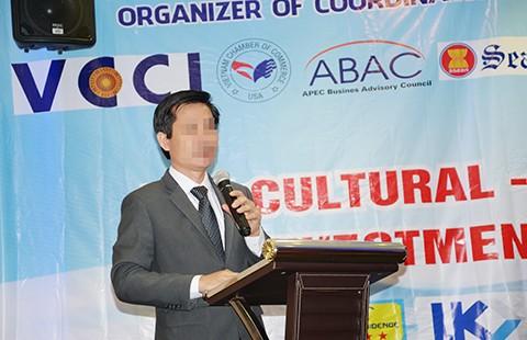 Đơn vị tổ chức 'Giải thưởng APEC' mạo danh VCCI