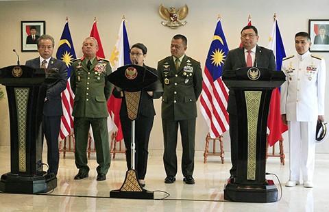 Ba nước ASEAN tuần tra chung