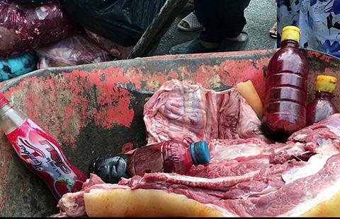 Thực phẩm bẩn: Bêu tên tận chợ, khu phố?