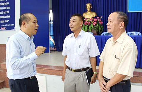 Ông Trần Văn Bảy: 'Đeo bám đến cùng bức xúc của cử tri'