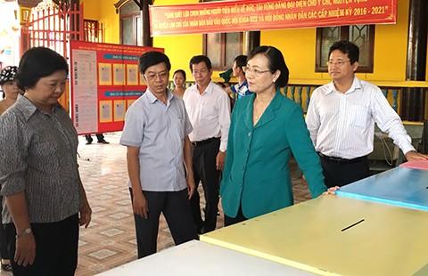 Tổ chức bầu cử cho học viên ở các cơ sở xã hội