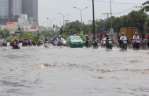 40 tuyến đường Sài Gòn sẽ ngập khi mưa