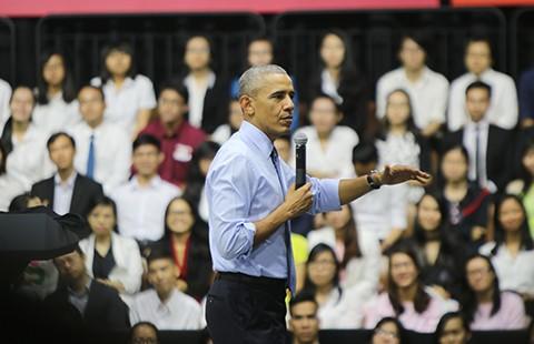 Ông Obama truyền cảm hứng cho giới trẻ
