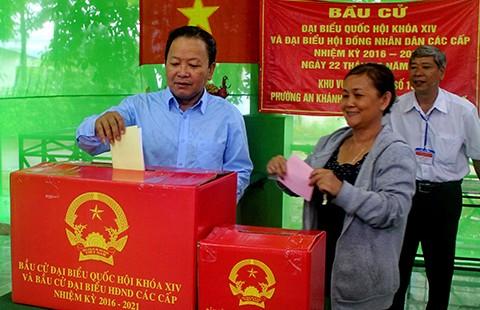 Ngày 29-5, Cần Thơ sẽ bầu thêm hai đại biểu Quốc hội