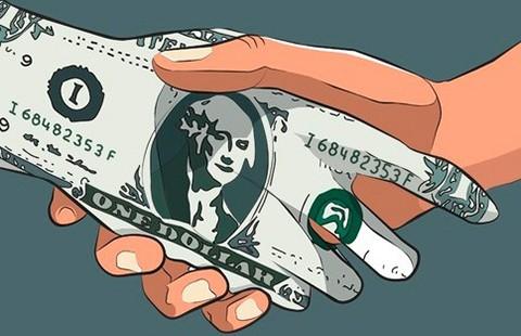 Tiền mệnh giá 20.000 đồng rất khó đưa phong bì