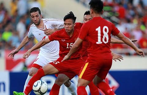 Việt Nam-Syria (2-0): Hạng 110 nhìn hạng 145 'múa'