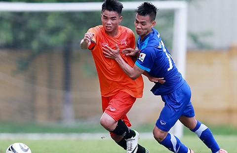 U-19 Việt Nam đấu với U-21 Thái Lan