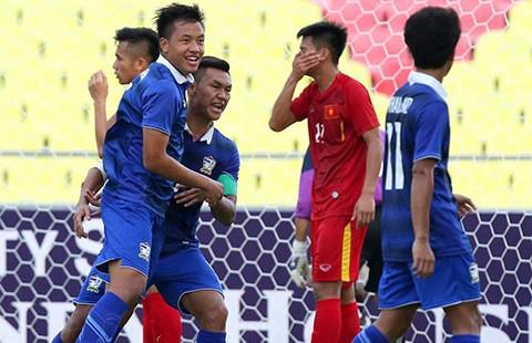 U-21 Việt Nam thua Thái Lan ở Nations Cup