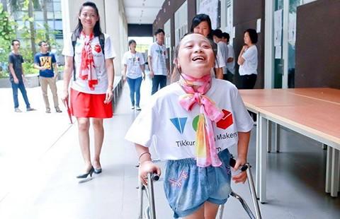 72 giờ xúc động dành cho người khuyết tật