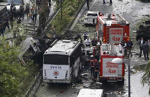 Thổ Nhĩ Kỳ quy cho người Kurd ly khai đã đánh bom